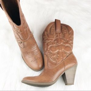 Mossimo Supply Co Cowgirl Boots Size 11